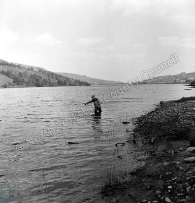 Fishing, Gouthwaite Reservoir